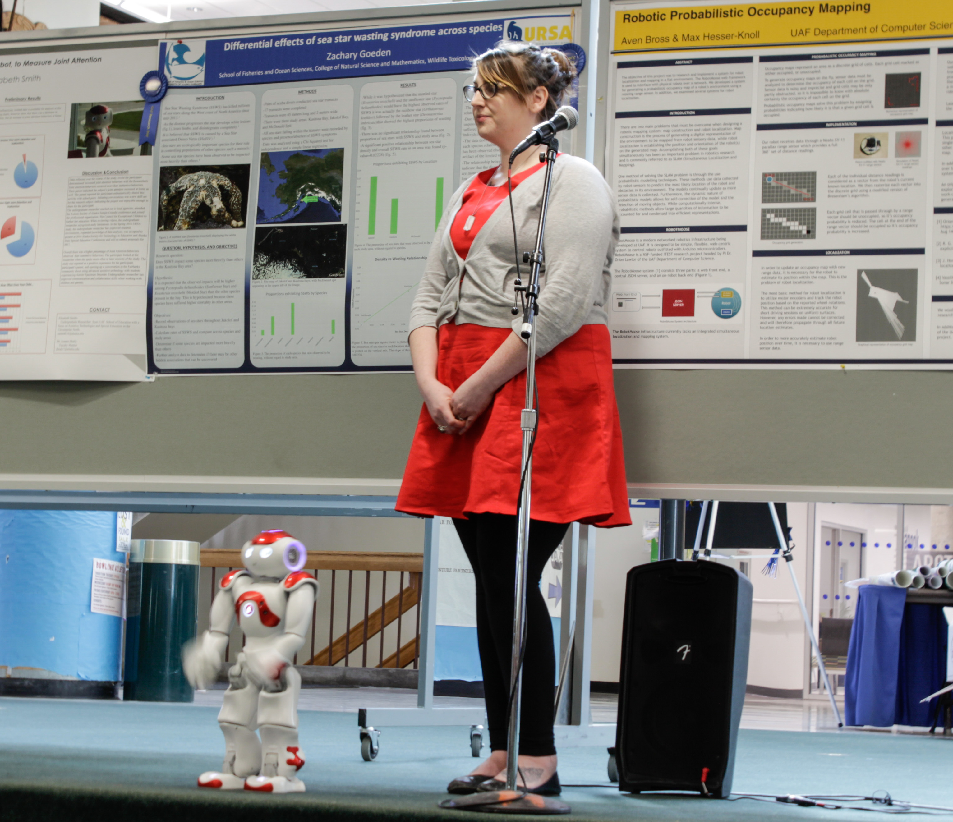 Students present during UAF Research Day – The Sun Star